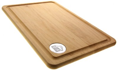 Maple Cutting Board 12x18 with Medallion